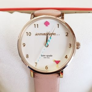 Kate Spade NY somewhere... Wine Nude Strap Watch